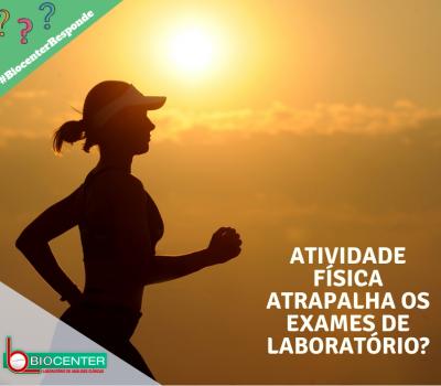 Biocenter Responde 2: Atividade física atrapalha os exames de labatório?