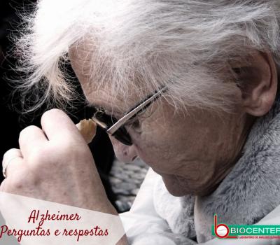 Alzheimer: Perguntas e respostas!
