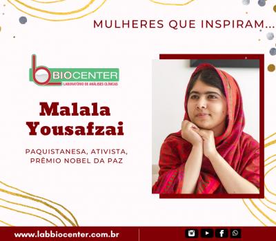 Mulheres que inspiram #3 - Malala Yousafzai