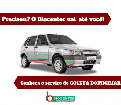 Coleta Domiciliar: O Biocenter vai até você!