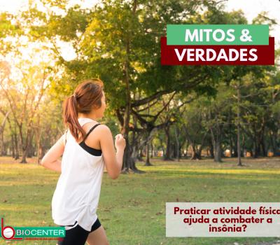 Mitos e verdades: Praticar atividade física ajuda a combater a insônia?