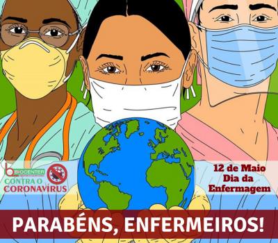 12 de Maio: Dia da Enfermagem!