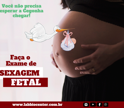Faça a Sexagem Fetal no Biocenter!