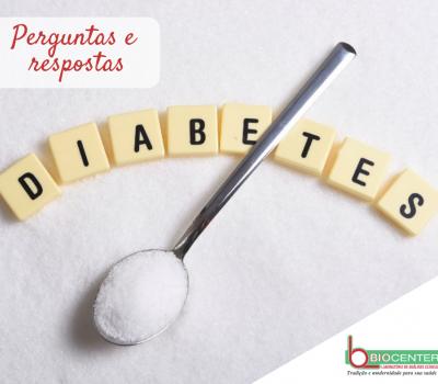 Diabetes em perguntas e respostas