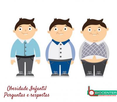 Obesidade Infantil: Perguntas e respostas!