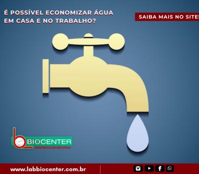 #Dicas: É possível economizar água em casa e no trabalho?