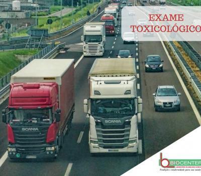Exame Toxicológico em perguntas e respostas